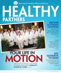 SGHS Healthy Partners Magazine Spring 2012 Edition